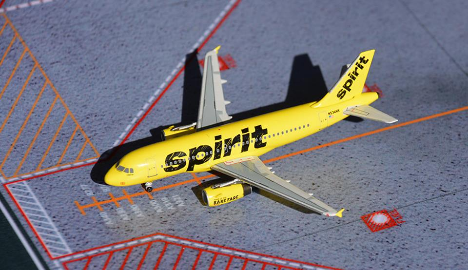 Spirit A319 new livery N534NK (1:400)