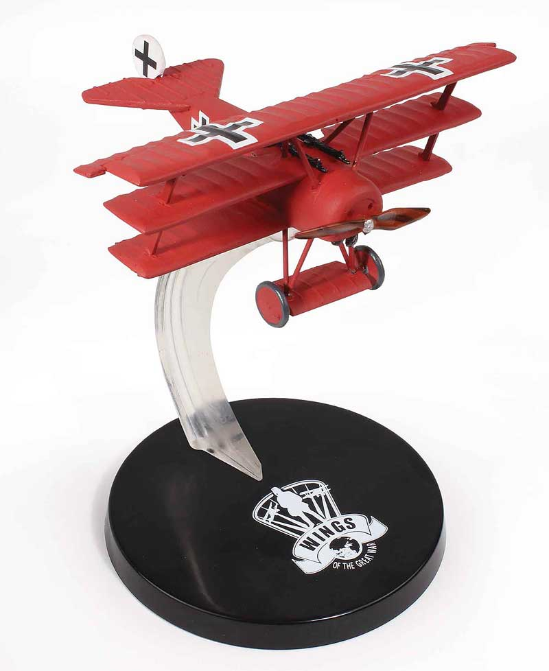"Fokker DR.I, JG I ""The Flying Circus"", Rittmeister Manfred von Richthofen, 1918 (1:72)"
