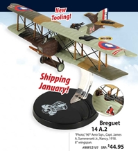 Breguet 14 A.2, Capt. James A. Summersett Jr., 96th Aero Sqn., 1918 (1:72) NEW TOOL! - Preorder item, order now for future delivery