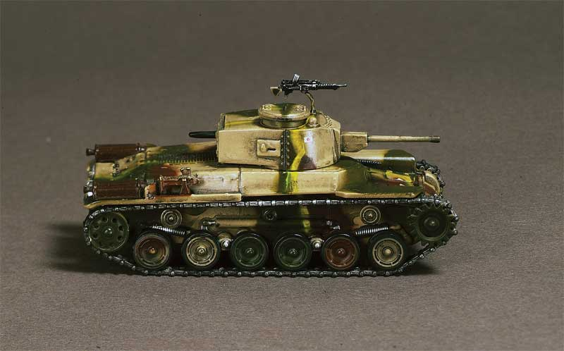 Type 97 Shinhoto Chi-ha, 5th Company, 17th Tank Regiment, New Guinea 1943 (1:72)