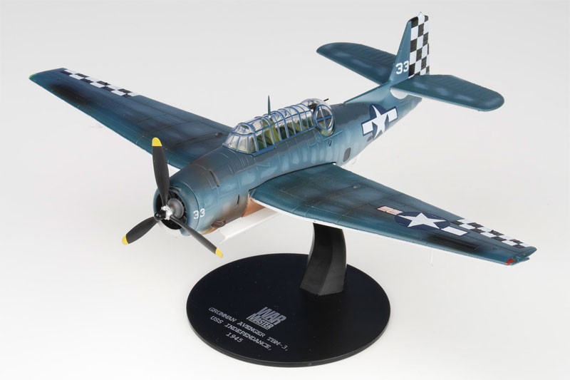 TBF Avenger, USS Independence, VT-46, March, 1945 (1:72)