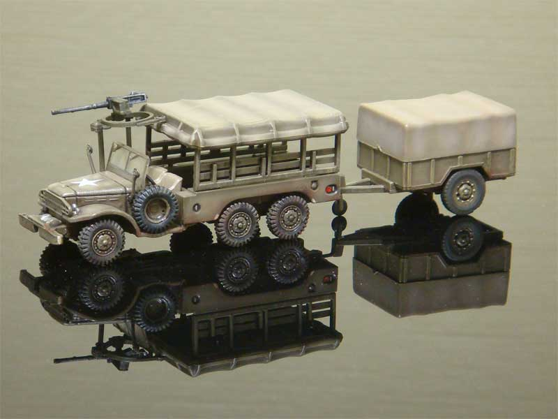Dodge WC 63 Weapon Carrier 6x6 1.5 Ton Truck (1:72)