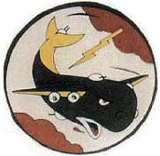 93rd Bombardment Group - 330TH bombardment Squadron - 5 Inch Patch