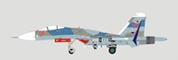 SU-27 Flanker Russian Air Force 23rd 1AP (56) (1:72)