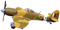 Hawker Sea Fury No 254 Iraqi Airforce Baghdad Fury (1:72)