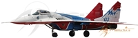 "Mig-29 ""Strizhi"" Russia Air Force 03 Blue (1:72)"