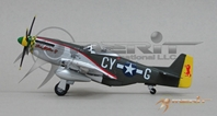 P-51D Mustang, Maj. Edward B.Giller, 343 Fighter Squadron, 55th Fighter Group (1:72)