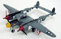 "Lockheed P-38J Lightning USAAF 370th FG, 402nd FS, ""Vivacious Virgin II"", Ian Mackenzie (1:72)"