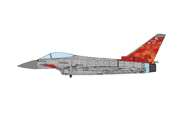 Typhoon FGR.Mk 4, RAF No.29(R) Sqn, RAF Coningsby, England (1:72) - Preorder item, order now for future delivery