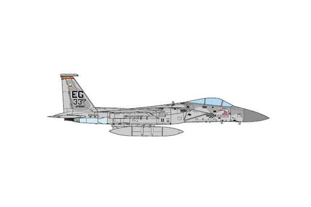 F-15C Eagle, USAF 33rd TFW, Operation Desert Storm 1991 (1:72)