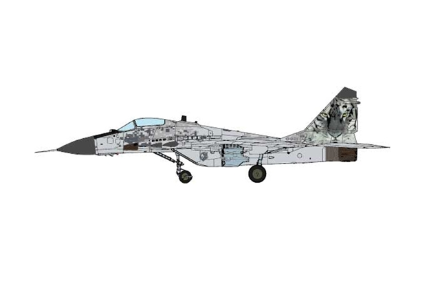 MiG-29AS Fulcrum-C, Slovak Air Force 1st Letka, Sliac AB, Slovakia (1:72) - Preorder item, order now for future delivery