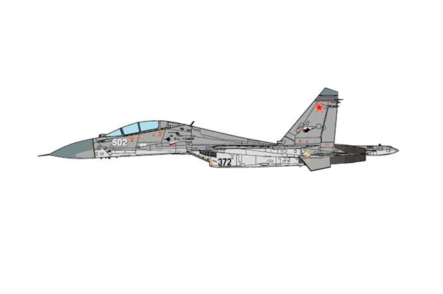 SU-30MK Flanker-C, Russian Air Force, White 502, Russia, 2006 (1:72) - Preorder item, order now for future delivery