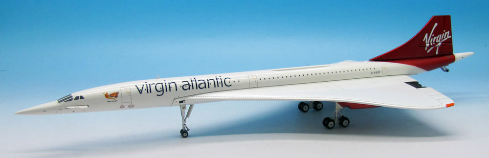Virgin Atlantic Concorde F-VSST (1:200)