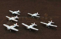 F4F-4 Fighter Plane - 6 piece set (1:350)