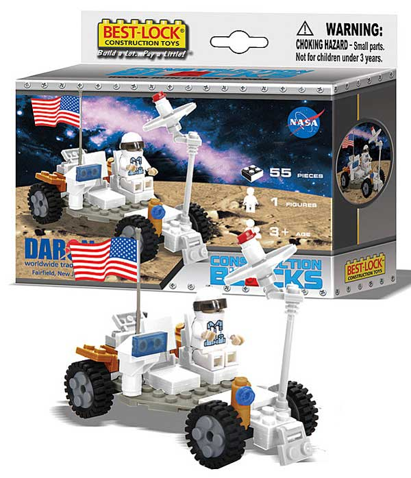 Moon Buggy 55 Piece Construction Set