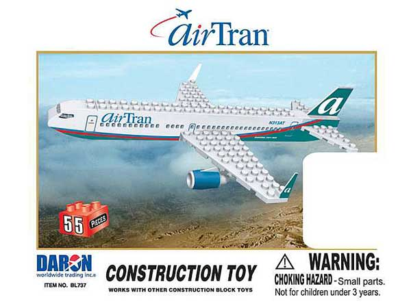 Airtran 55 Piece Construction Toy