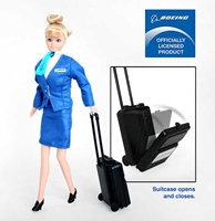 Boeing Flight Attendant Doll