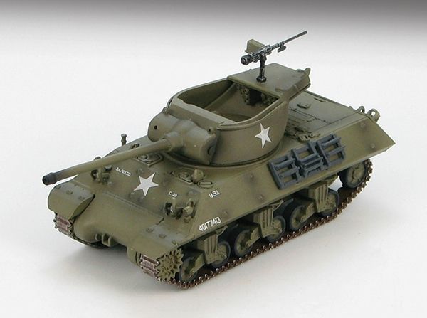 M36 Jackson Tank Destroyer 703rd Tank Destroyer Battalion, U.S. Army, Battle of the Bulge (1:72)
