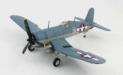 "F4U-1 Corsair, ""BuNo 02714,"" ""Spirit of 76"", VMF-215, Munda, August, 1943 (1:48)"
