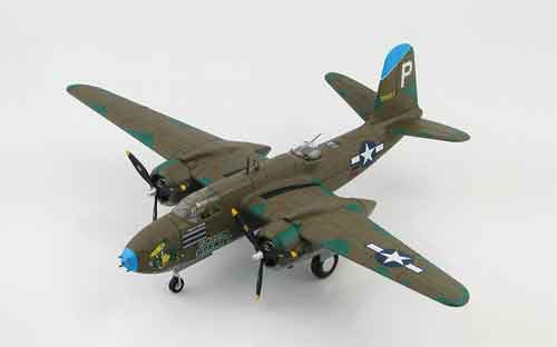 "Douglas A-20G Havoc, ""43-9407,"" ""Green Hornet"","" 675th Bombardment Squadron, 417th Bomber Group, New Guinea, 1944 (1:72)"