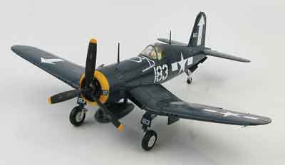 F4U-1D Corsair,#183, Lt. Dean Caswell of VMF-221, USS Bunker Hill, 1945 (1:48) - Signature Version