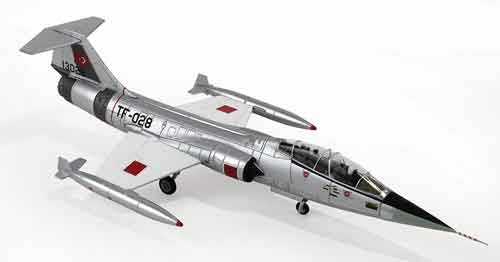 "TF-104G Starfighter ""13028/TF-028,"" Turkish Air Force (1:72)"