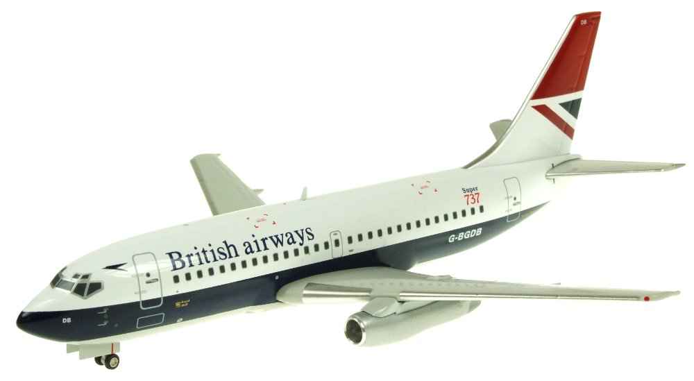 British Airways 737-200 ~G-BGDB (1:200)