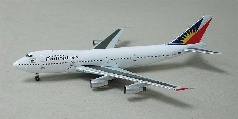 "Philippine Airlines 747-211B ""N207AE"" (1:400)"