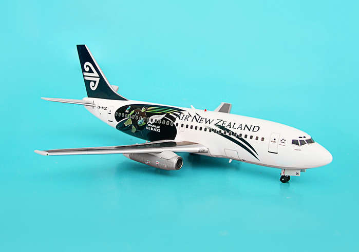 "Air New Zealand 737-200 ""All Blacks"" ~ZK-NQC (1:200)"
