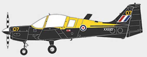 Scottish Aviation Bulldog Series 120/121 XX693, PFA Suffolk Costal Strut, Boxted, 2006 (1:72)