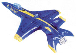 Navy Blue Angel Inflatable Toy (Package of 12)