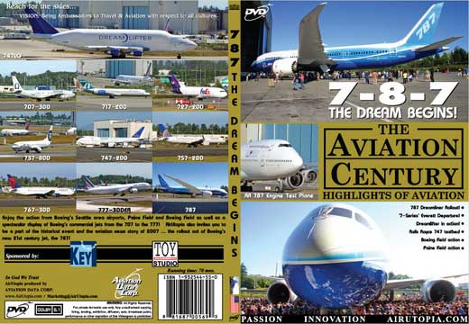 Boeing 787: The Dream Begins (DVD)