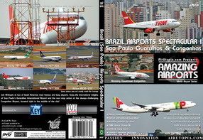 Brazil Airports Spectacular I: Sao Paulo Congonhas & Guarulhos (DVD)