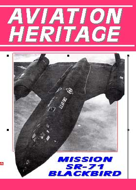 Aviation Heritage, Mission SR-71 Blackbird