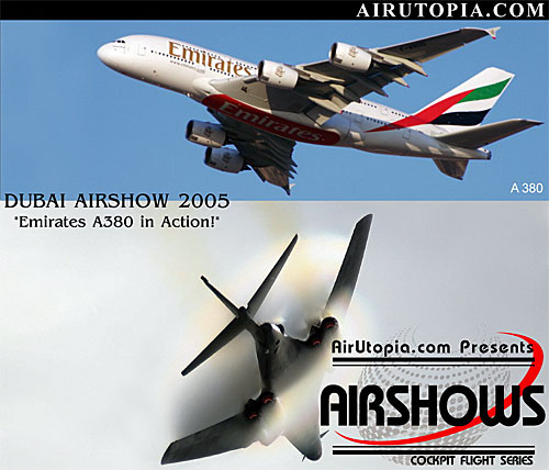Dubai AirShow Emirates: A380 in Action! (DVD)
