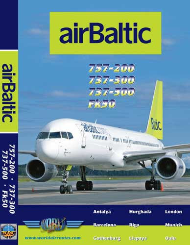 Air Baltic Boeing 737 & 757 (DVD)