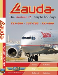 Lauda Air B737-600/700/800 (DVD)