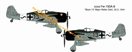 "Fw-190A-8 ""Black 13"" JG-3, Eastern Front 1944 (1:72)"