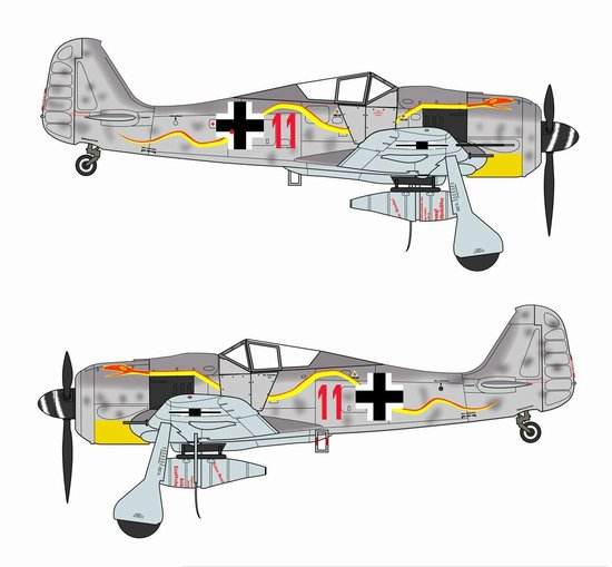 "FW-190A-8 ""RED 11"" (1:72)"