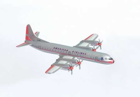 American Airlines L-188A (1:400) with Tin