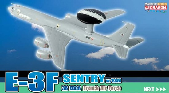 E-3F Sentry, French Air Force (1:400)
