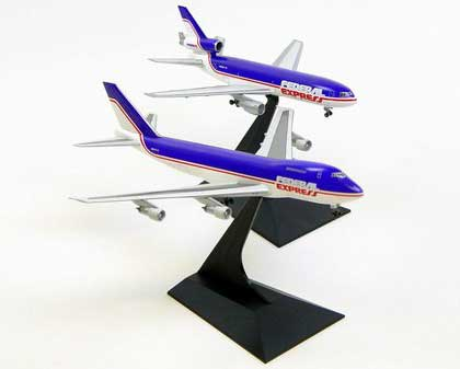 "FedEx 747-200F and DC-10-10F ""Old Livery (2 pack) (1:400)"
