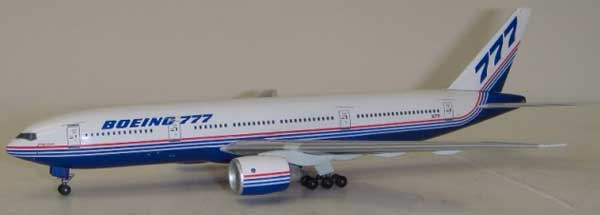Boeing Aircraft Company 777-267 (1:400)