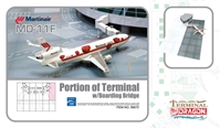 Martinair Cargo MD-11F (1:400) with Airport Terminal Section