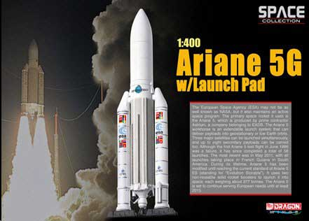 Ariane 5G w/Launch Pad (1:400)