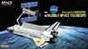 NASA Space Shuttle Discovery w/Hubble Space Telescope (1:400)