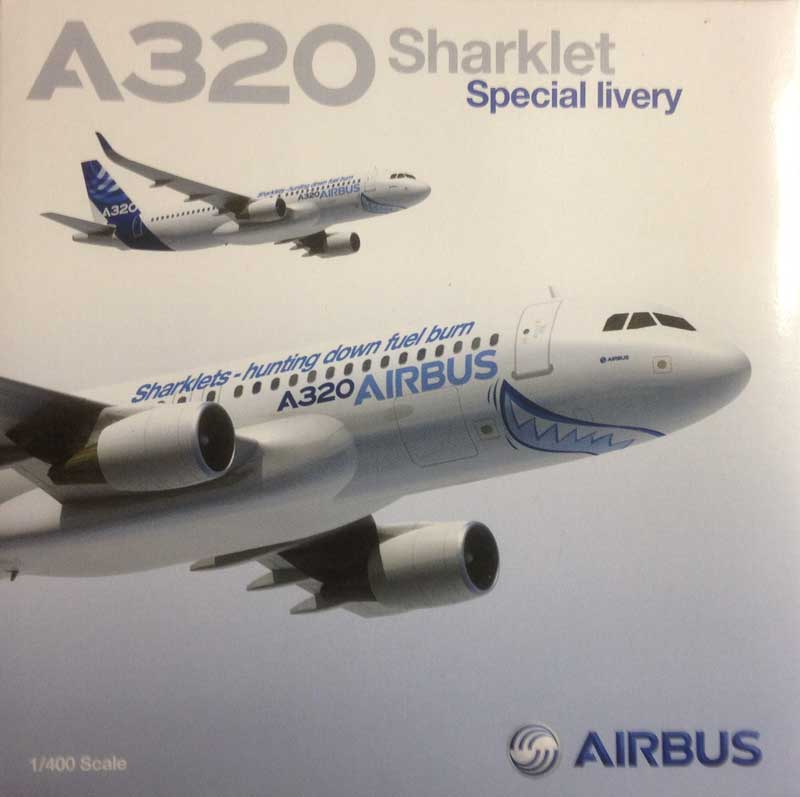 Airbus A320 with Sharklets (Sharklet Special Livery), Corporate Model (1:400)
