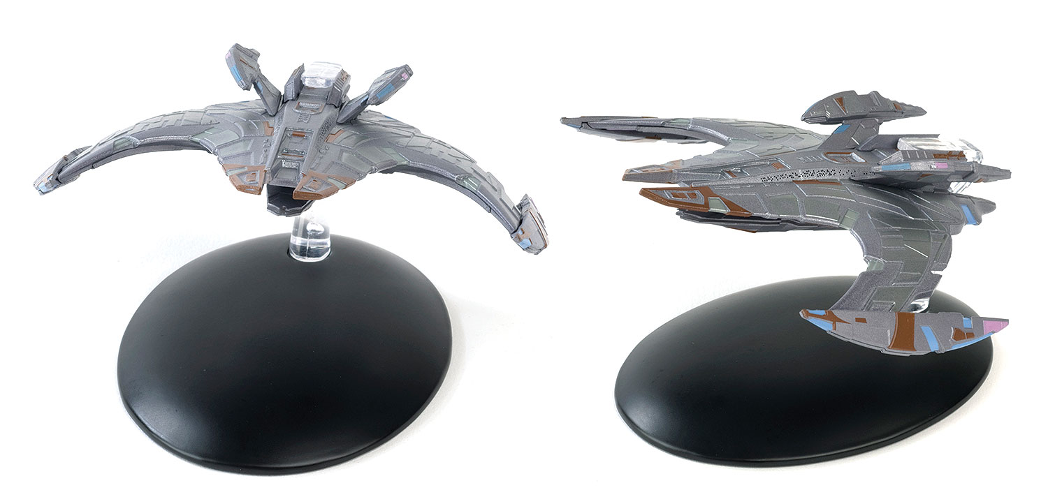 Jem'Hadar Battle Cruiser Die Cast Model