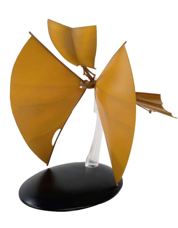 Bajoran Solar Sailor Die Cast Model