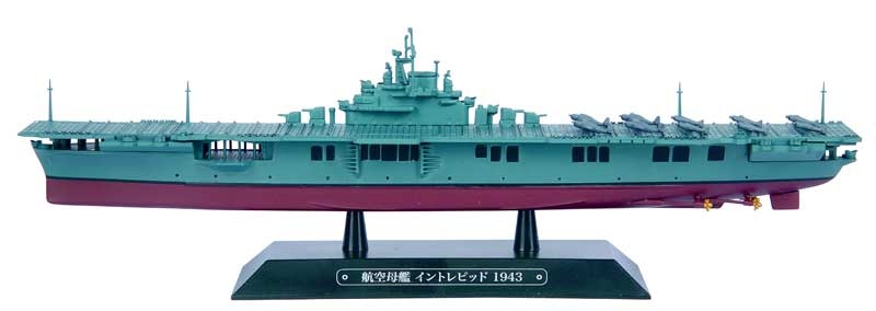 Usn Aircraft Carrier Intrepid (Cv-11) - 1943 (1:1100) - Preorder item, order now for future delivery